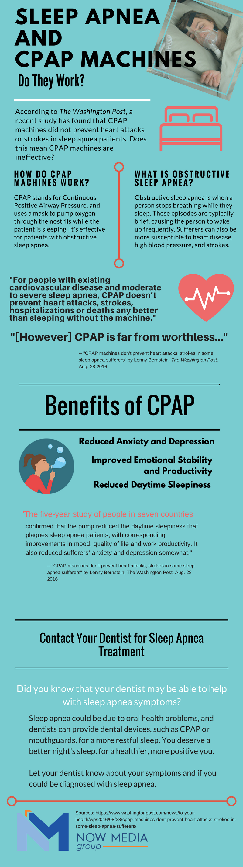 An infographic about CPAP machines